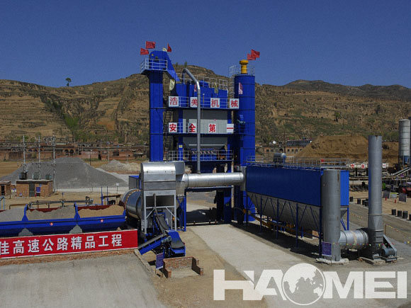 supplier of asphalt mixing plants