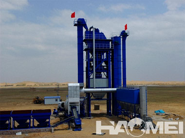 Continuous asphalt mixing plant supplier