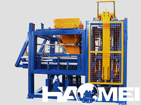 hollow block machine price