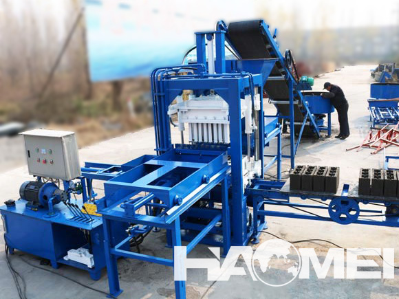 semi automatic fly ash bricks machine price