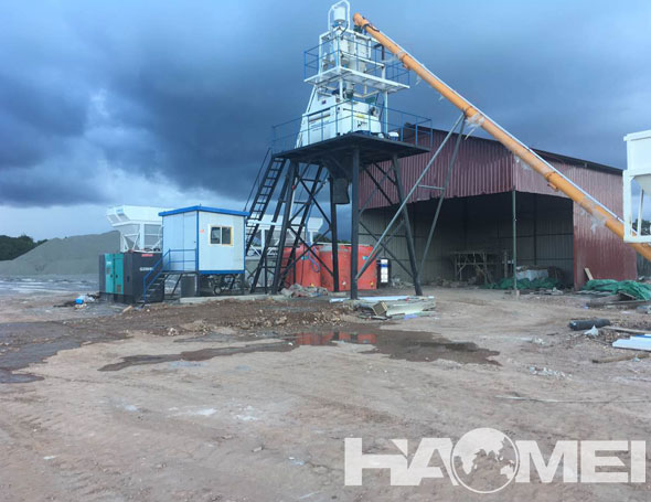concrete mixing plant Indonesia