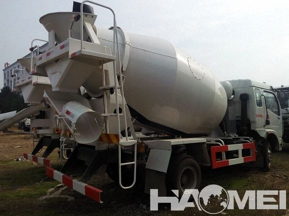 new concrete mixer truck price