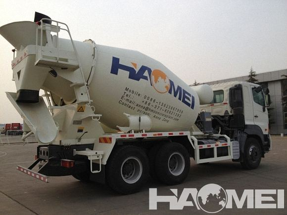 cost of concrete mixer truck