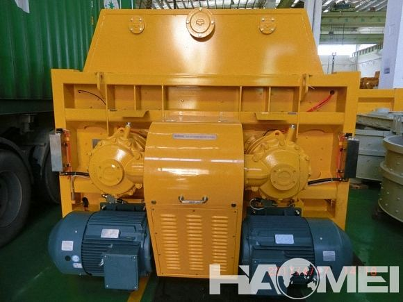 sicoma twin shaft concrete mixer