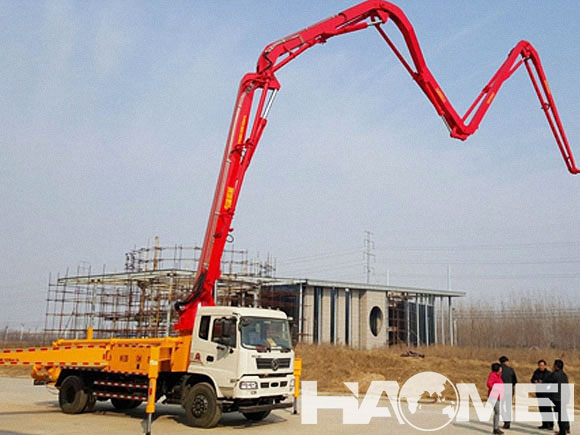 concrete pump truck business