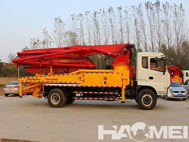 HDT5350THB-4245 Concrete Pump Truck | HAOMEI concrete pump truck