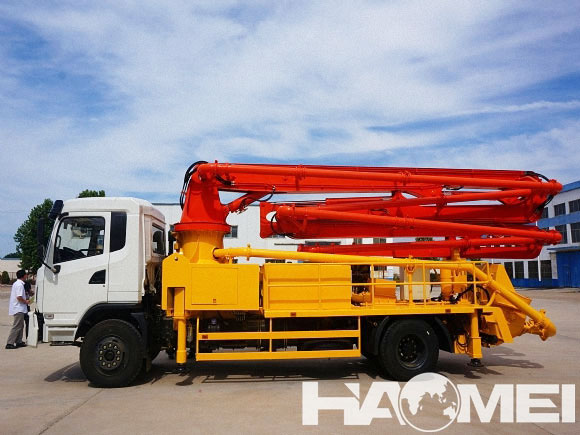 concrete pump truck fuel consumption