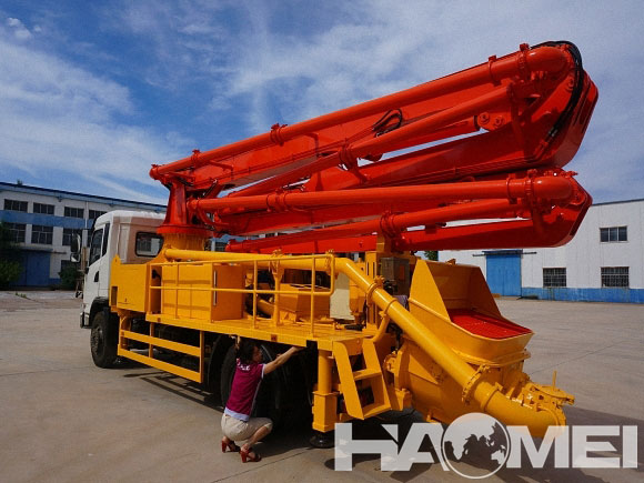 concrete pump truck manual