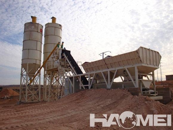 ready mixed mobile concrete batching plant