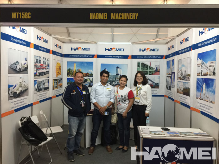 Philippine Construction Equipment Exhibition in 2016