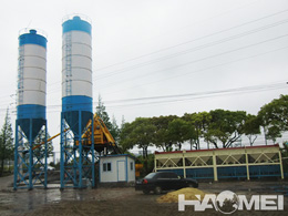 concrete mix plant manufacturer