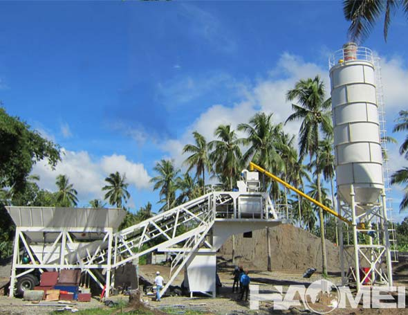 mobile concrete mixing station manufacturer