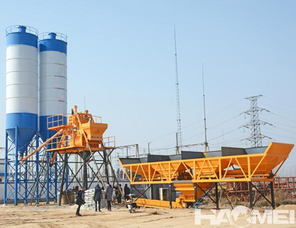 buy stationary concrete mixing plants