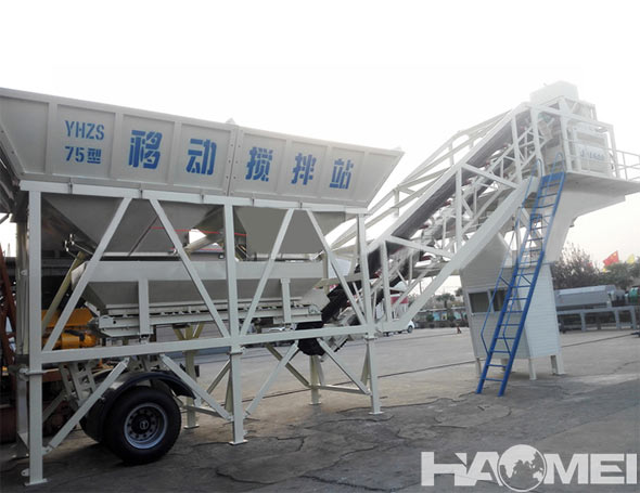mobile concrete batching plant factory china