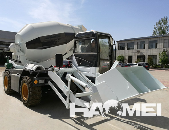 self loading concrete truck mixer manufacturer