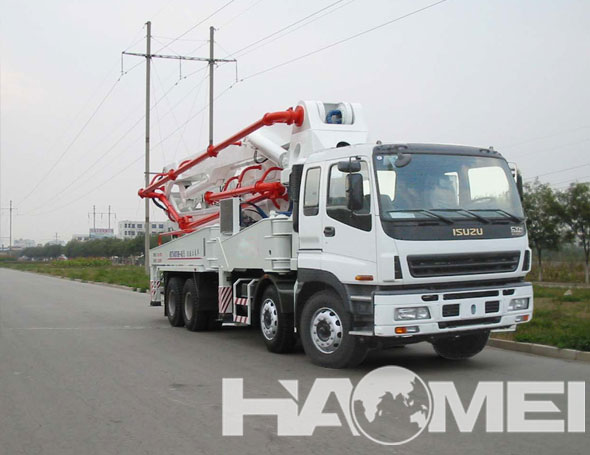 New sale-Concrete Pump Truck with Trailer