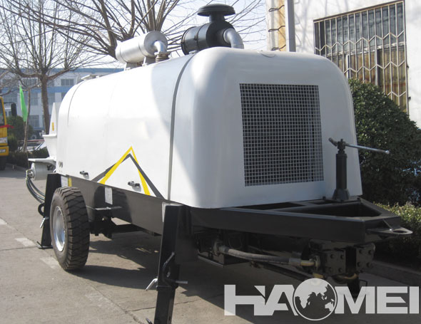 The Introduction of Trailer Concrete Pump