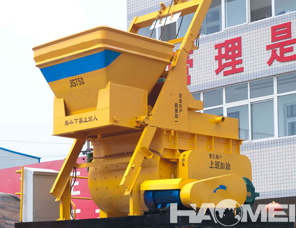 JS750 Self Loading Concrete Mixer