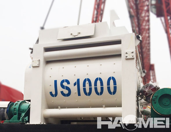 JS1000 Electric Portable Concrete Mixer