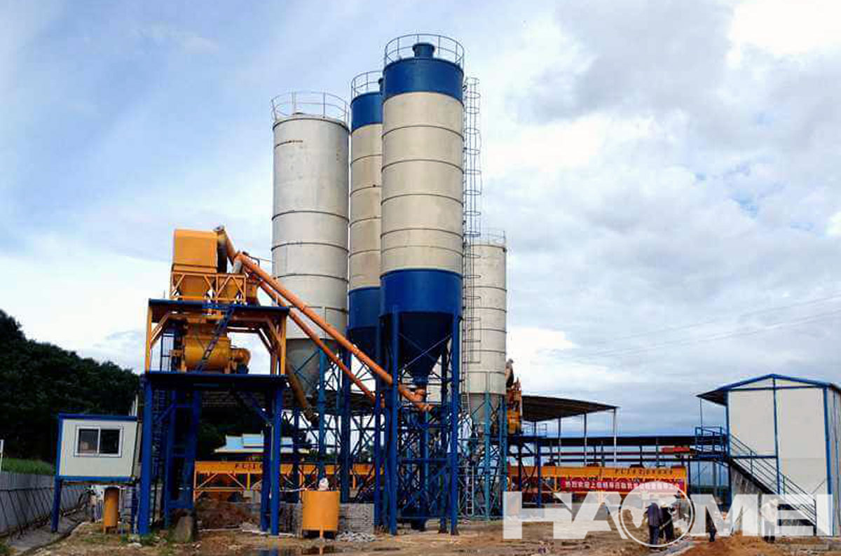 Concrete Mini Batching Plant in Coastal Countries