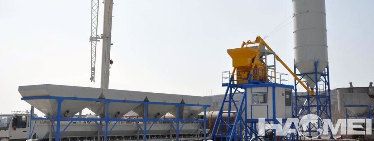 Wet Type Batching Plant