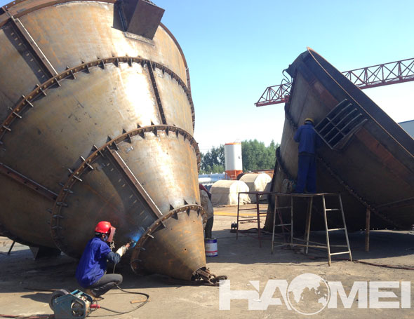 Cement Silo of Stationary Concrete Batching Plant