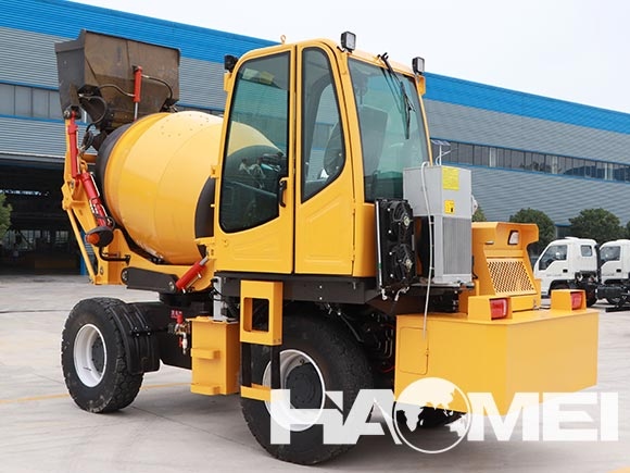 ajax concrete mixer