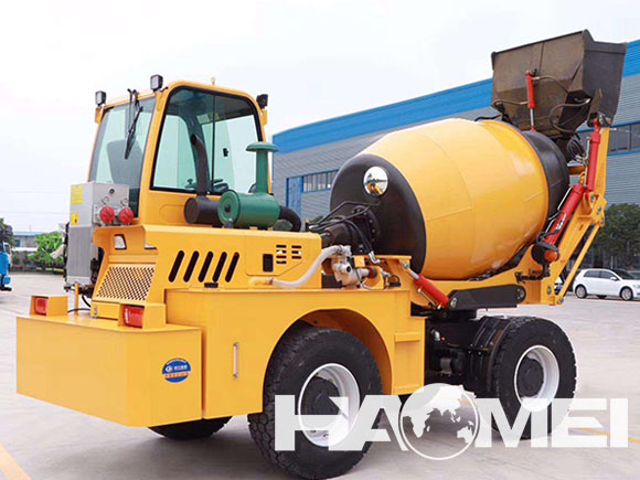 ajax self loading concrete mixer price