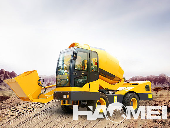 self loading concrete transit mixer