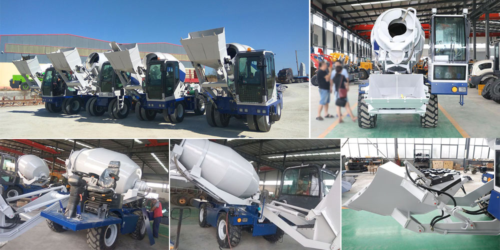 self loading transit mixer suppliers