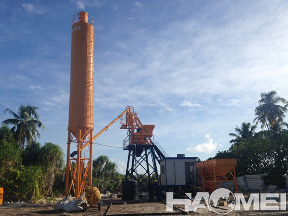 ready mixed concrete batching plant for sale