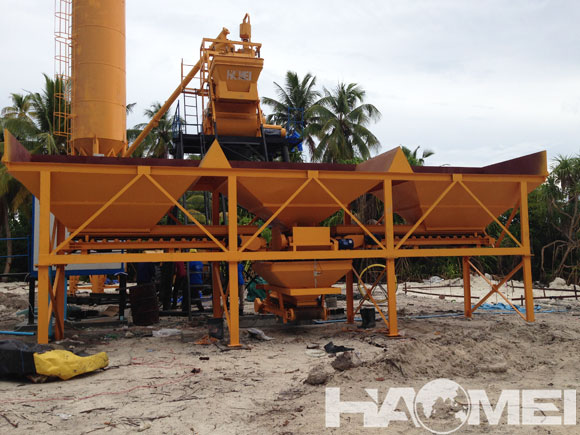 concrete batching plant Indonesia