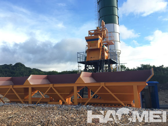 wet ready mixed concrete batching plant