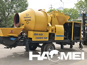 concrete mixer with pump price