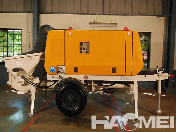 concrete pump trailers for sale