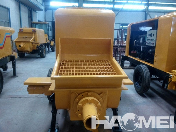 trailer mounted boom concrete pump for sale