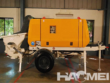 HBT80S1813-145R Trailer Concrete Pump
