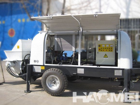 HBT90S1821-200 Trailer Concrete Pump
